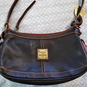 Dooney & Bourke Black Leather Shoulder Bag